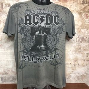 Men's AC/DC Back in Black Hell Bells T-Shirt - L